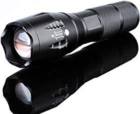 Linterna Linterna LED Zoomable 5000lumen lámpara de táctica LED batería luz zoom