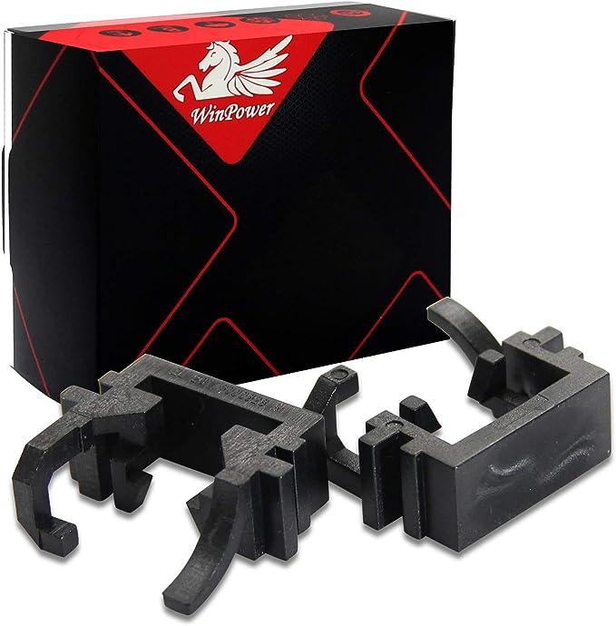 Win Power H1 Led Birne Basis Clips Adapter Halter Haltefedern Unterstützung Steckdose Zubehör Für Led Lampensockel 2 Stücke Auto