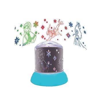 LEXIBOOK color-NLJ030F Disney Frozen Nocturna, quitamiedos ...
