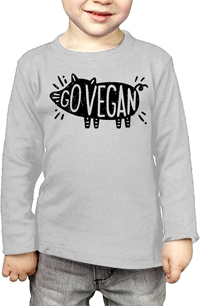 CERTONGCXTS Baby Boys Kids Vegan ComfortSoft Long Sleeve Shirt