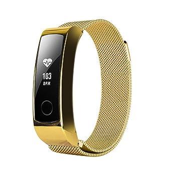 Cleveres Zubehör Intelligent Metall Uhr Band Für Huawei Honor Band 4 Strap Metall Stahl Armband Huawei Band 4 Handgelenk Strap Edelstahl Armband Ersetzen