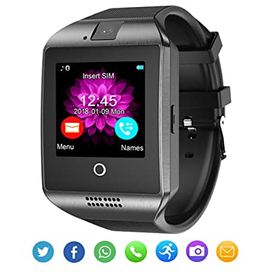 Bluetooth Smart Watch with Camera Waterproof Smartwatch Touch Screen Phone  Unlocked Cell Phone Watch Smart Wrist Watch Smart Watches for Android