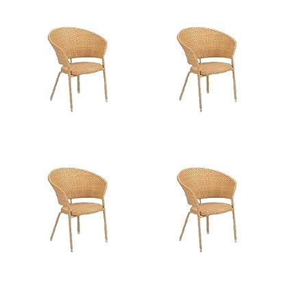 Oferta 4 sillones Riva Natura Emu arredo casa interior ...