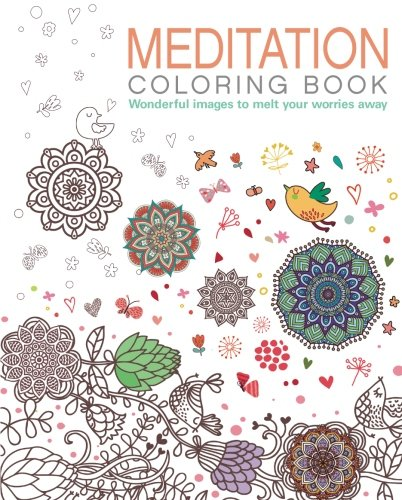 Meditation Coloring Book: Wonderful images to melt your worries away (Chartwell Coloring Books)