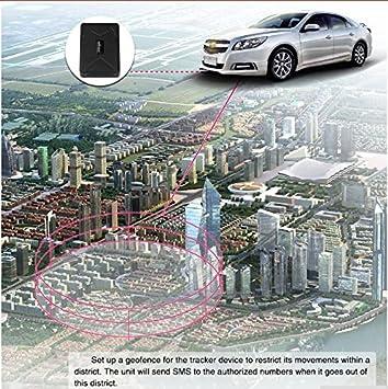 Zeerkeer GPS Tracker Localizador GPS para Coche Impermeable Tiempo Real Antirrobo Fuerte im/án Rastreador GPS App Gratuita para Seguimiento veh/ículo 10000 mAh