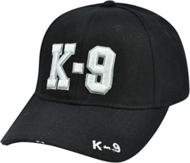 Police Officer Cap Embroidered Baseball Cap Adjustable