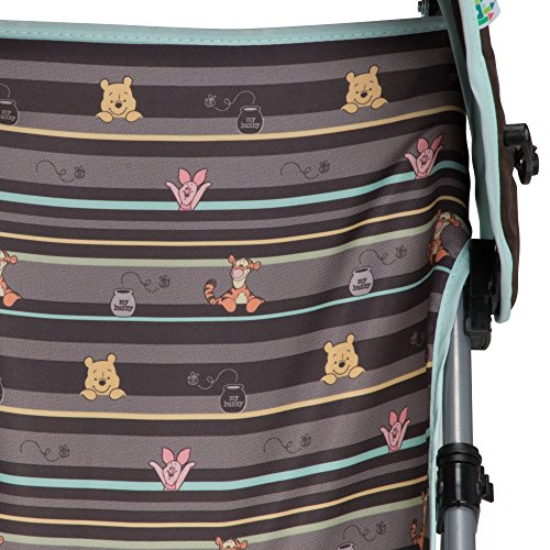 Disney Baby Winnie-the-Pooh Umbrella Stroller with Canopy (My Hunny Stripes)