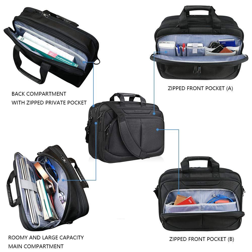 KROSER - Maletín para Ordenador portátil de hasta 15,6 Pulgadas (DKM-156): Amazon.es: Informática
