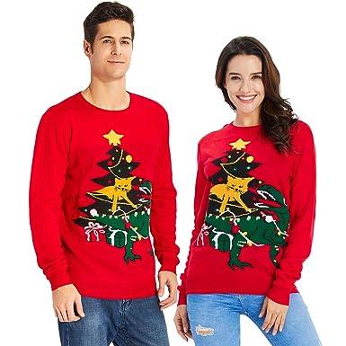 Goodstoworld Unisex Strickpullover Ugly Christmas Sweater Neuheit ...