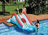 Swimline 90809 Inflatable Super Water Slide for Kids Side of Swimming Pool Slide - Model: - Home Garden & Outdoor Store