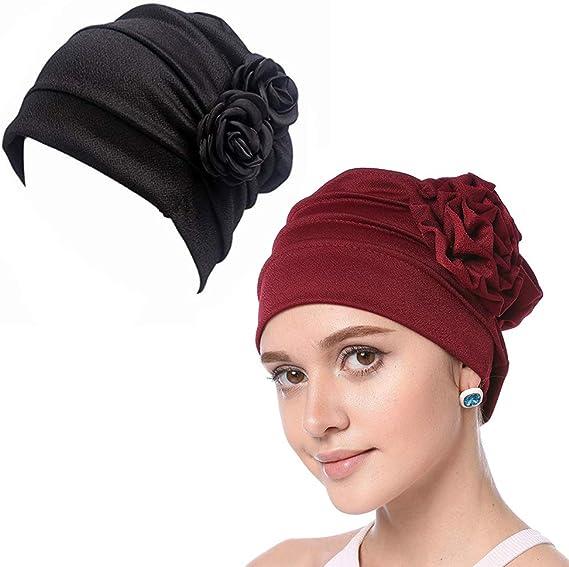 WETOO Sombreros y Gorras Boinas Mujer para Oncológicos y para ...