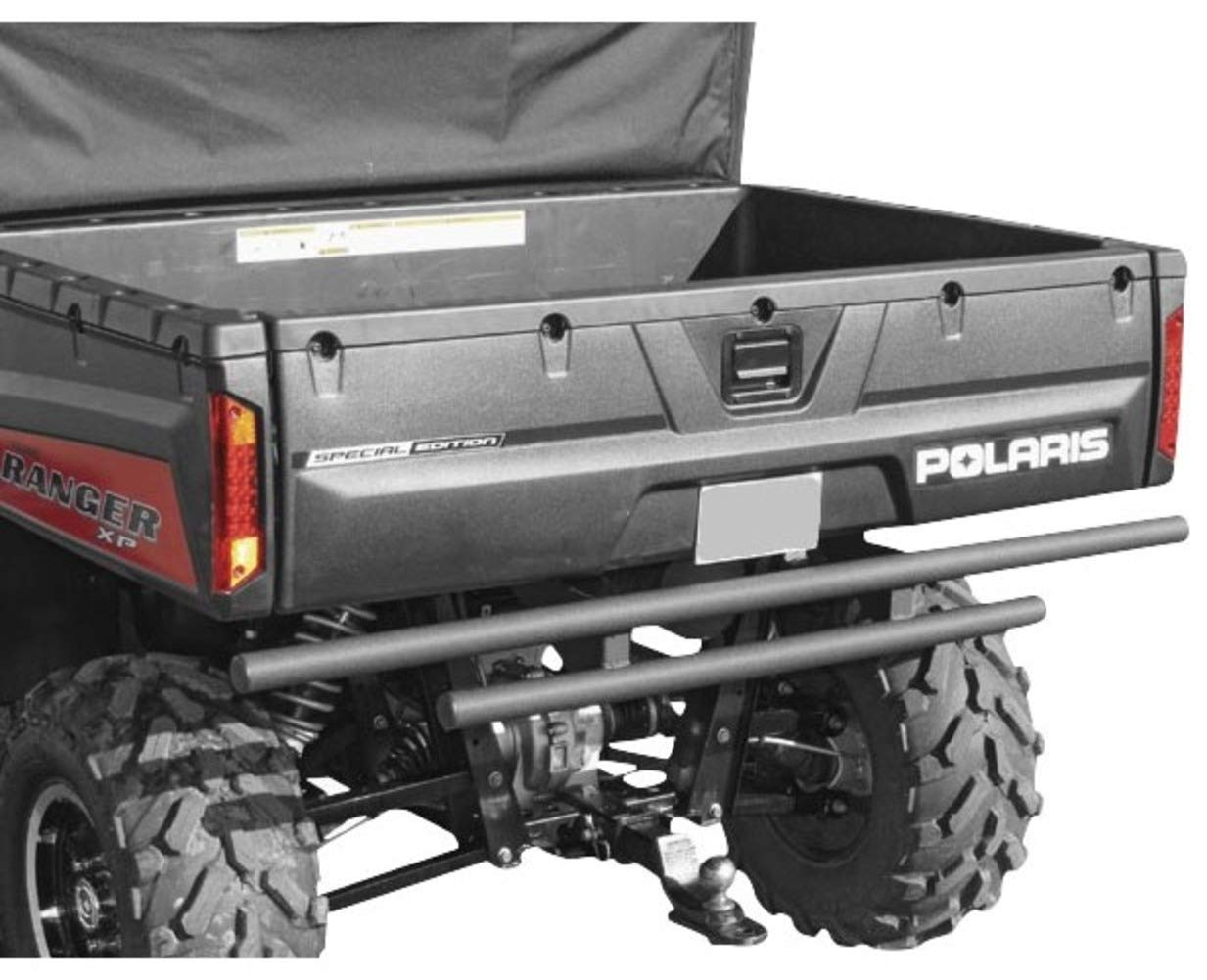 2005-2013 Polaris Full Size Ranger and BobCat Rear Double Tube KFI Bumper KFI Products
