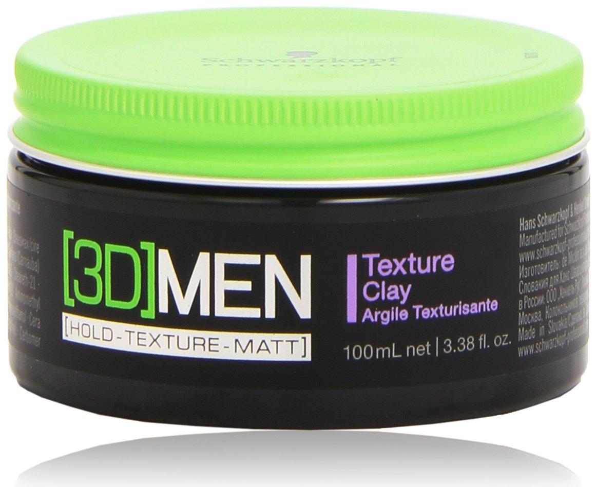 Schwarzkopf [3D]Men Texture Clay 100ml 9177 1853305_-100ml