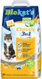 Biokat's Classic 3in1 Cat Litter – Highly Absorbent and Odour Binding Clumping Litter – 1 x 20l Bag