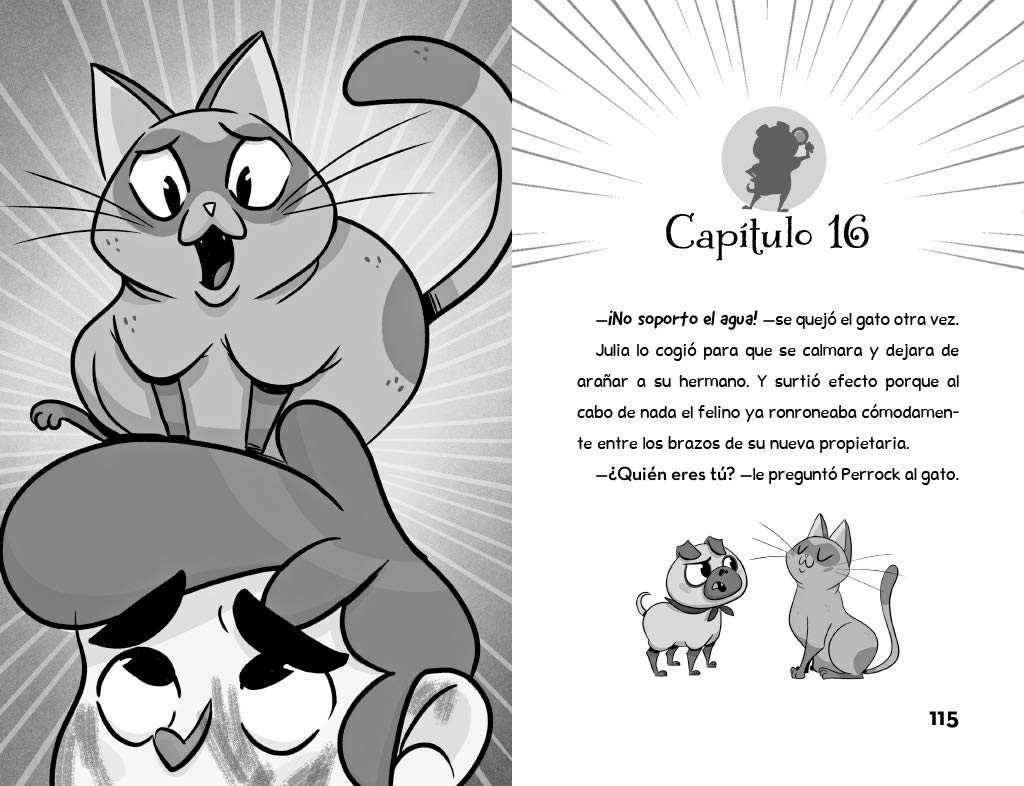 Elemental, querido Gatson /Elementary, My Dear Gatson (Perrock Holmes) (Spanish Edition): Isaac Palmiola: 9788490436288: Amazon.com: Books