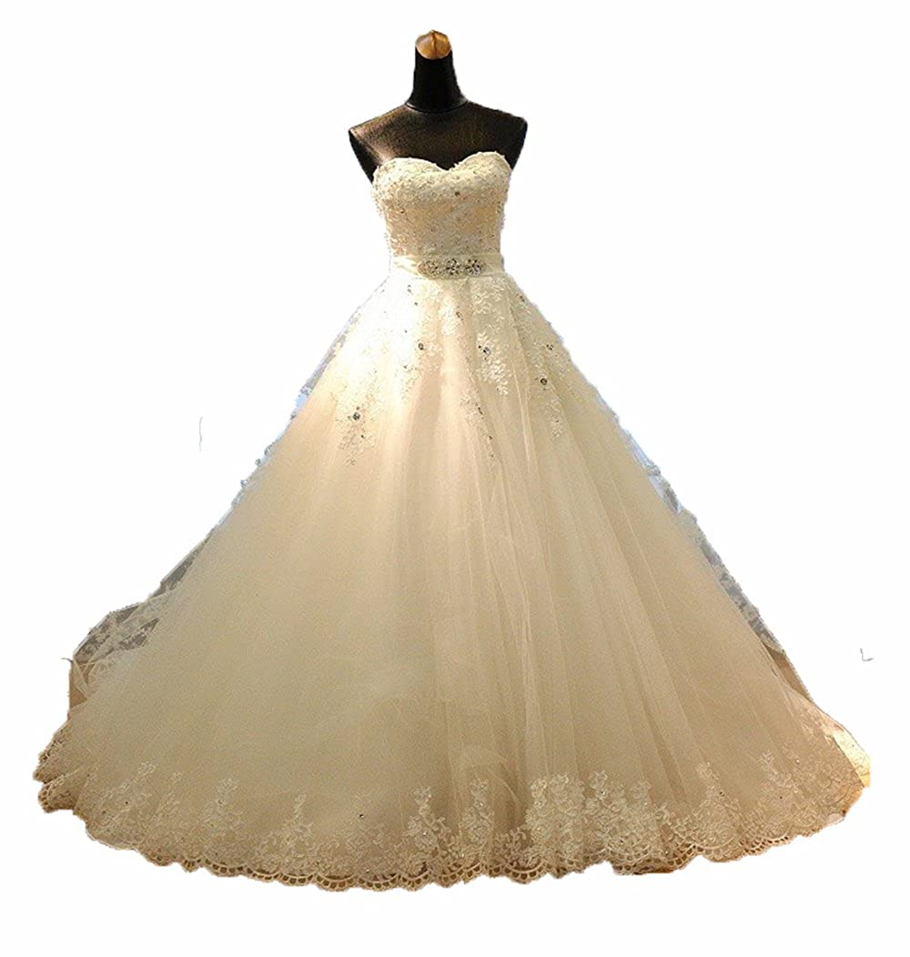 Little Prettydress Sweetheart Beaded Corset Bodice Classic Tulle