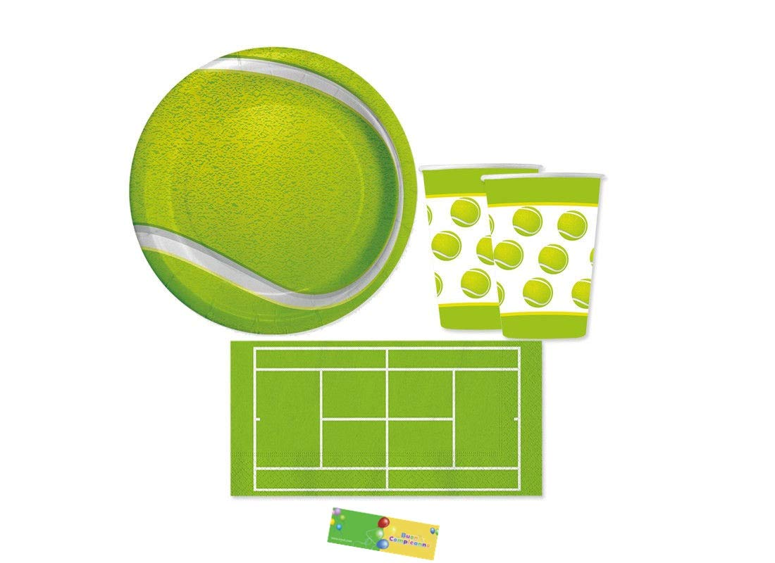 Creative Converdeing kit n 29 Tennis coordinato compleanno festa a tema