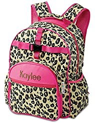 Leopard Spots Personalized Kids Backpack by Lillian Vernon