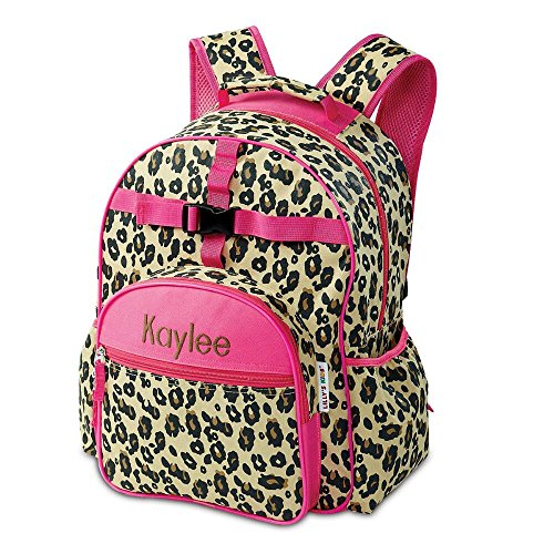 Leopard Spots Personalized Kids Backpack by Lillian Vernon -