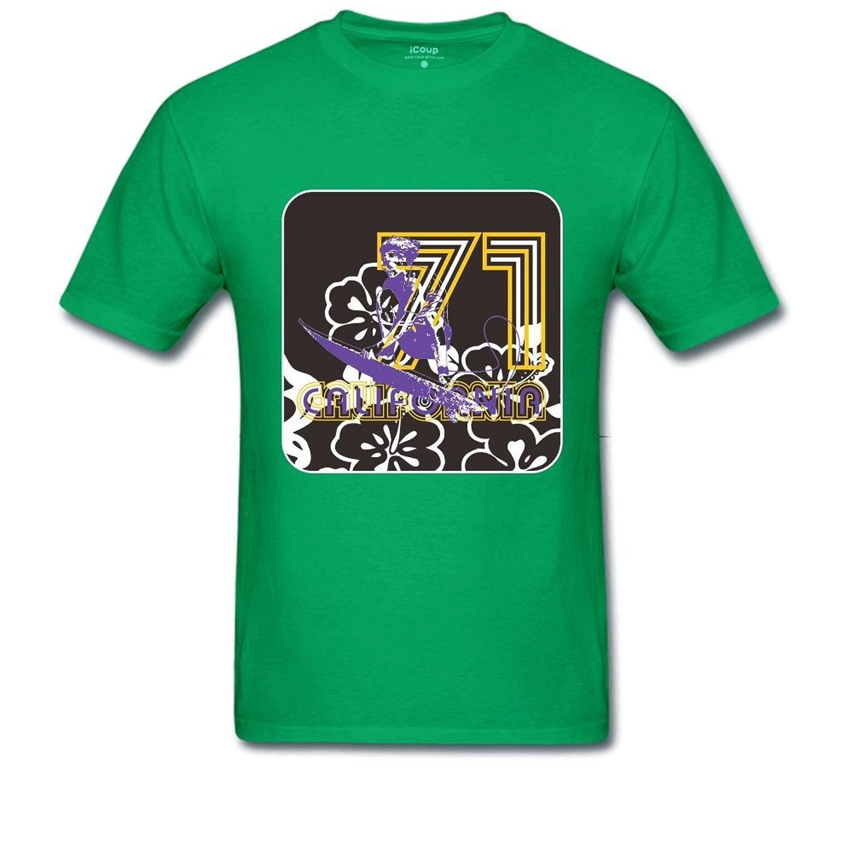 71 CANFORNIA Men's Regular T Shirt XXL LightGreen