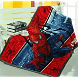 Children's Cartoon Printing Blanket Coral Fleece Blanket 39 By 55 (Spider-Man)