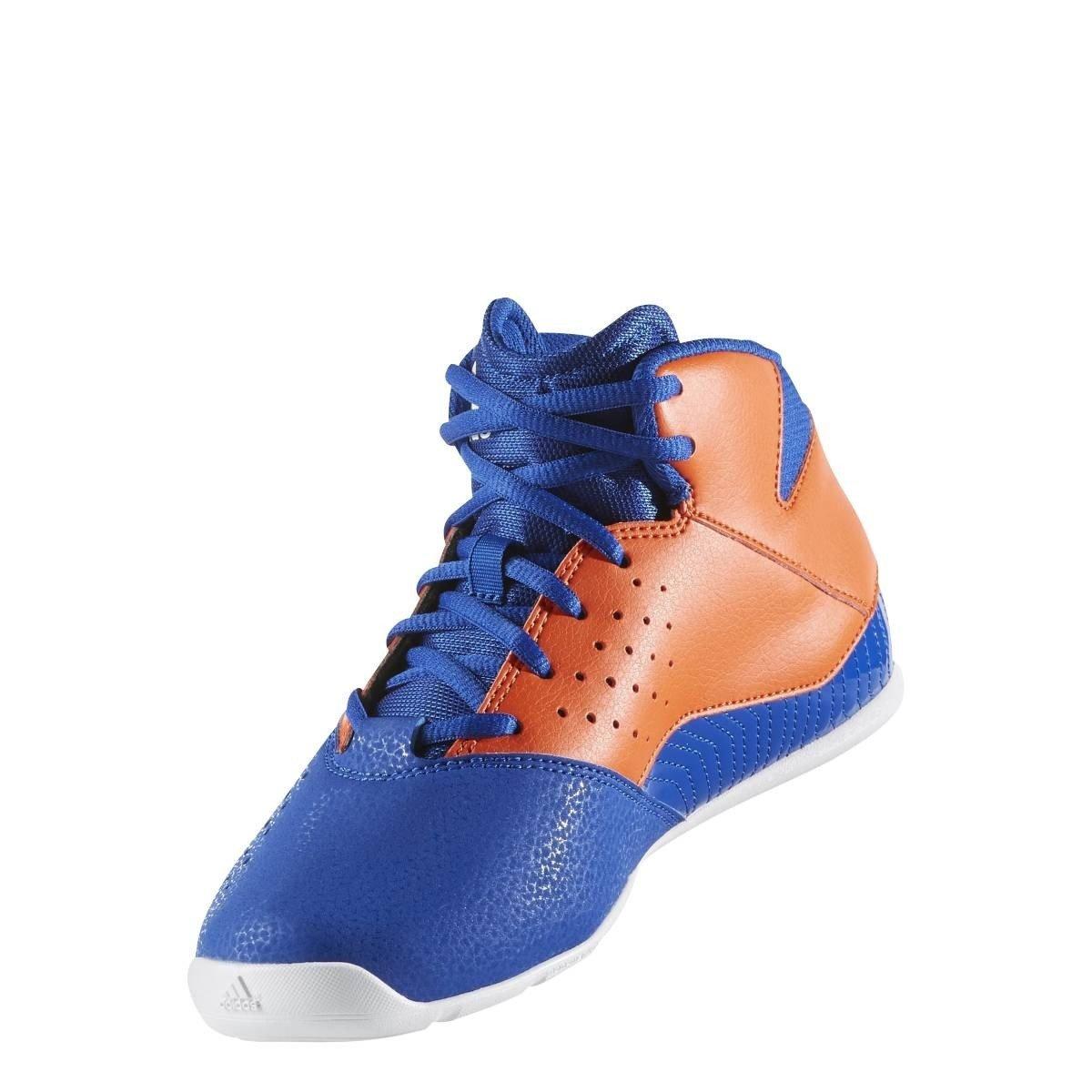 Adidas Nxt LVL SPD V NBA K, Zapatos de Baloncesto Unisex Niños (Azul/naranj/ftwbla) 28 EU BW0501