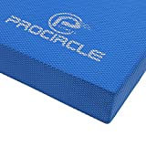 PROCIRCLE Balance Pad - X-Large 49cm x 39cm x 6cm - Exercise Mat, Foam Balance Board & Balance Trainer - Wobble Cushion for Physical Therapy and Core Balance