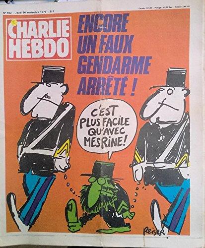 Charlie Hebdo n° 450 - 28 juin 1979 - Pétrole : assez déconné ! Quand est-ce qu'on va casser la gueule aux Arabes ? (Reiser)