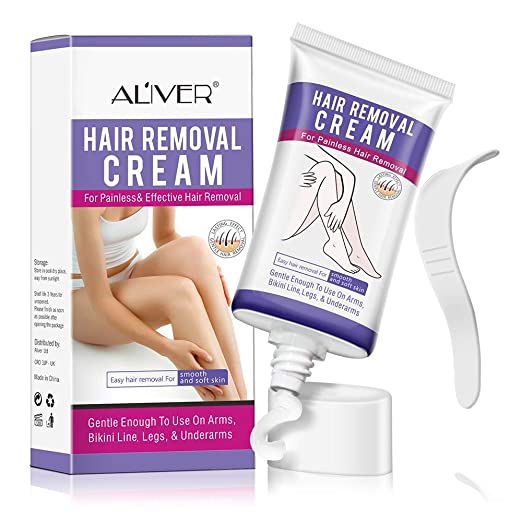 Hair Remover Cream,Depilatory Cream Sensitive Formula, Skin Friendly Natural Painless Flawless for Women and Men best depilatory cream