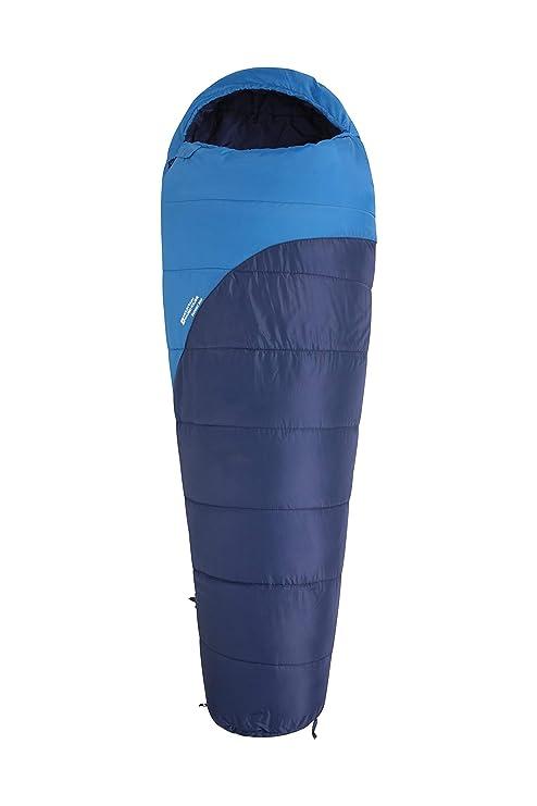 classic fit 28ca0 20d03 Mountain Warehouse Summit 300 Sleeping Bag – 23cm x 41cm -Mummy Shaped  Camping Bag