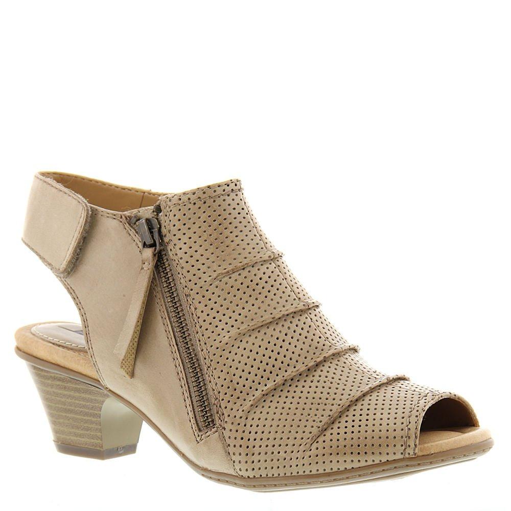 Earth Women's Hydra Mid Heel Sandal,Light Pecan Soft Leather,US 9.5 Wide by Earth