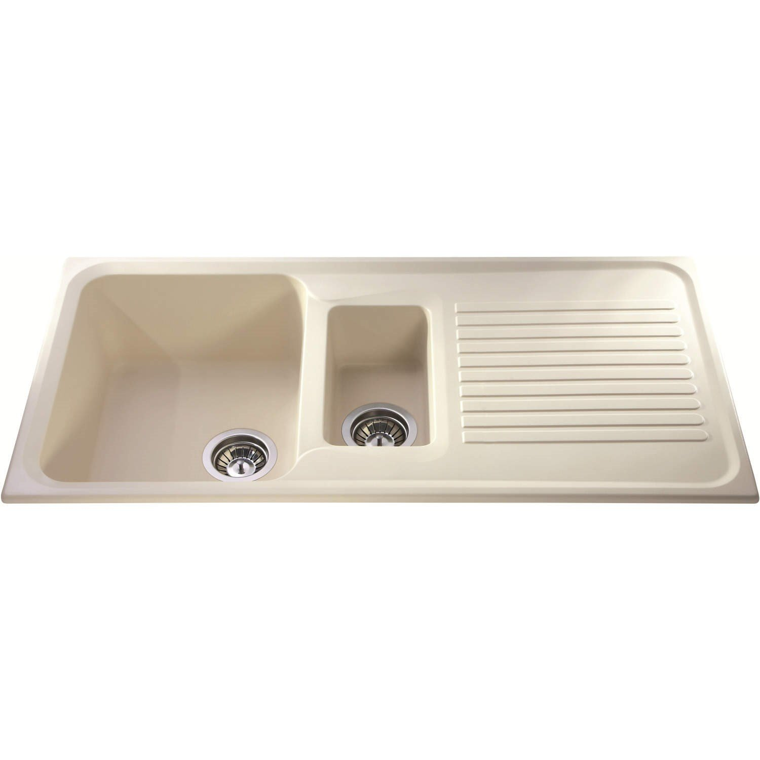 CDA AS2CMComposite 1.5 Bowl Sink Cream: Amazon.co.uk: DIY & Tools