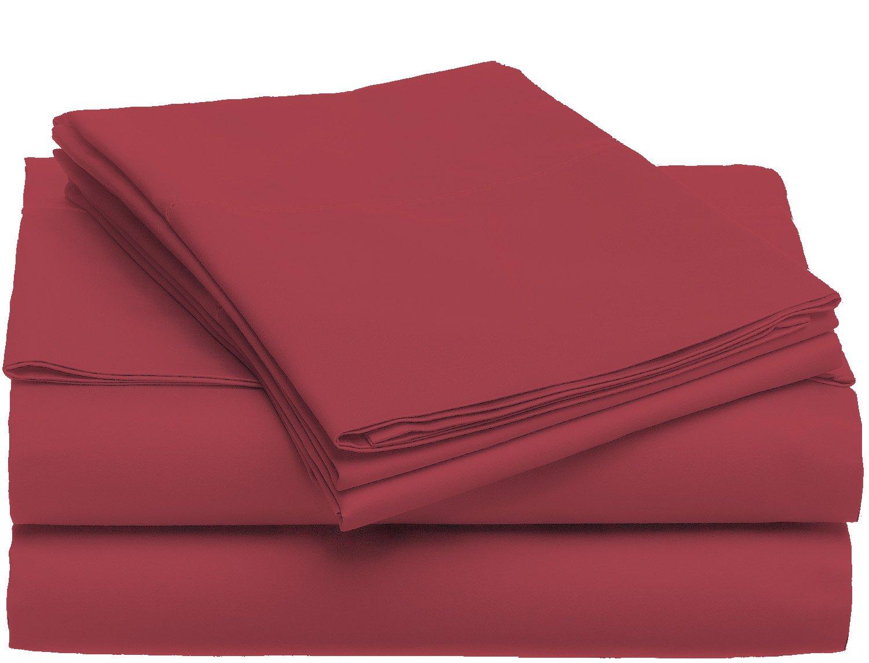 U.S. POLO ASSN. m6p805-red-q Juego de sábanas de Microfibra, Color ...