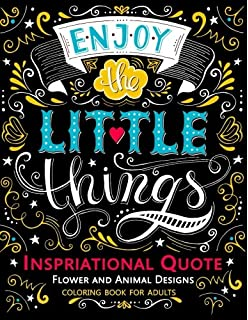 Inspirational Quotes Coloring Book Great Word Art Quotes