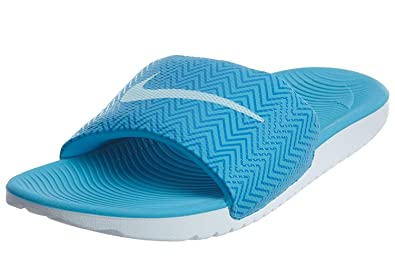 f1a2a69fe Amazon.com | Nike Women's Kawa Slide Print Chlorine Blue 5 | Sport Sandals  & Slides