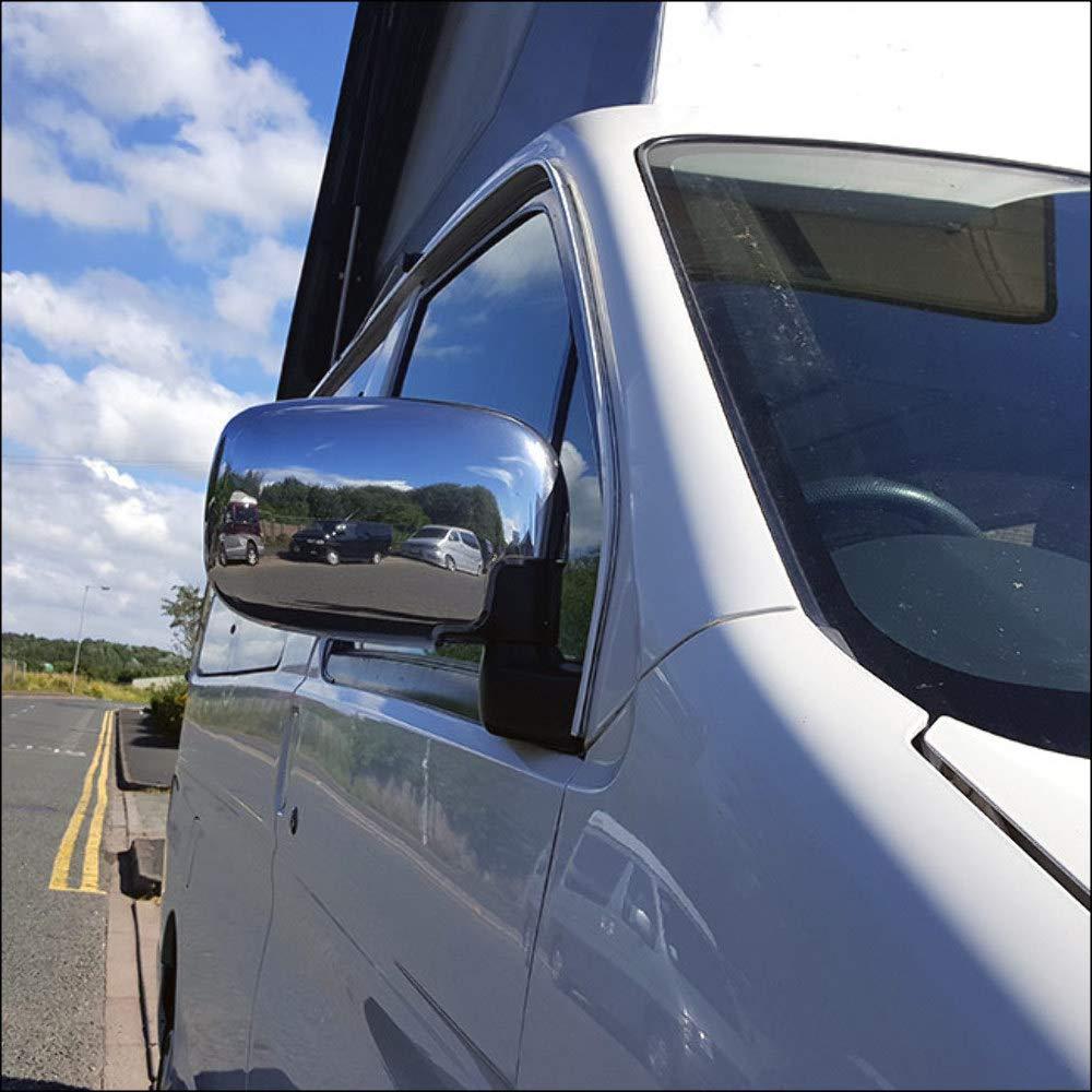 VAN-X Mazda Bongo Abs Chrome Mirror Covers