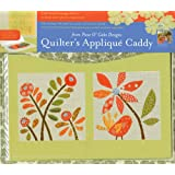 Quilter's Applique Caddy: 3 Felt-lined Storage Folios Keep Your Fabric Pieces Organized