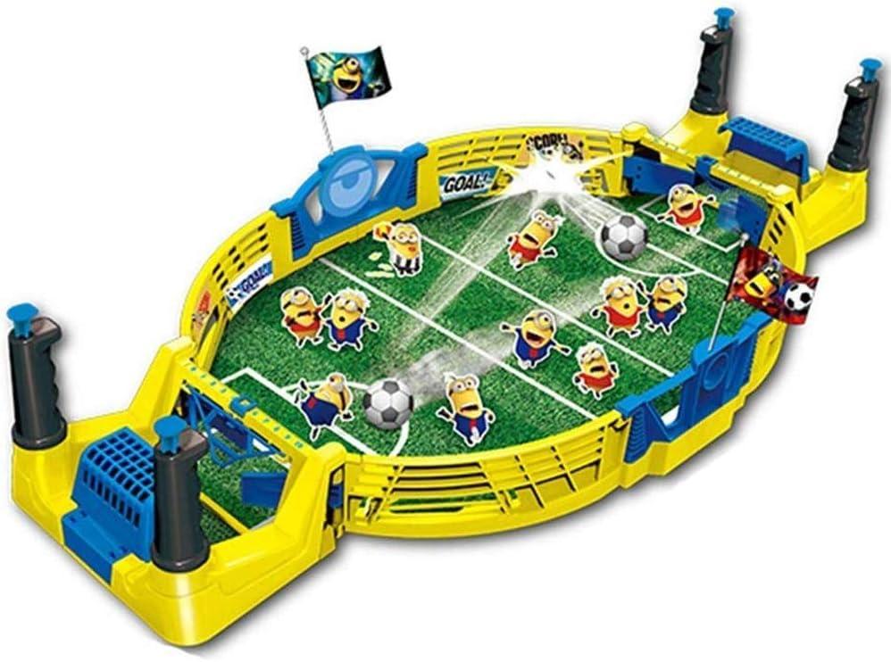 YQSHYP Mesa de la máquina de fútbol, Campaña y el Rugido de futbolín Juegos de Mesa y Accesorios, 56.5 * 27.5 * 11.5CM de Madera de niños: Amazon.es: Deportes y ...