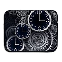 Creative Watches And Clocks Design Laptop Sleeve Case Protective Bag Briefcase Sleeve Bags Cover For Macbook/Ultrabook/Notebook/Laptop