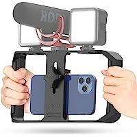 Ulanzi U Rig Soporte movil Video Smartphone Video Rig Soporte de Trípode con Estabilizador de Video para Teléfono…