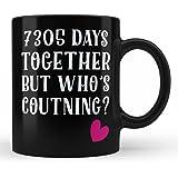 20th Wedding Anniversary Gifts Mug For Wife Husband Wifey Girlfriend Boyfriend Life Partner Gift