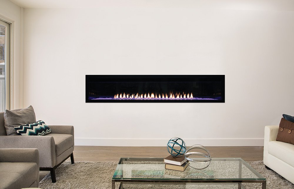 AMERICAN HEARTH Boulevard Vent Free 72 inch Fireplace Natural Gas by AMERICAN HEARTH