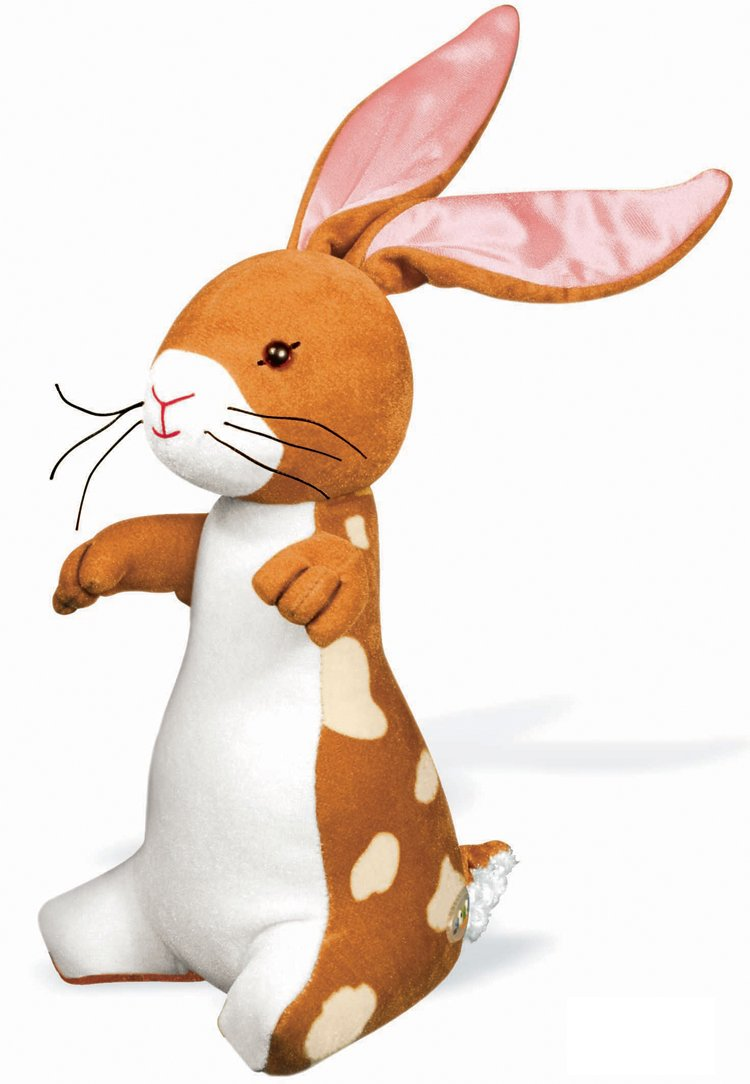 The Velveteen Rabbit 10'' Velvet Plush Stuffed Animal Soft Toy - Who Lives Because of a Child's Love by YOTTOY