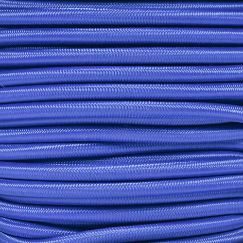 West Coast Paracord Marine Grade Shock Cord 1/4-inch - Lengths up to 1000 feet - Made in USA (25 Feet, Royal Blue)