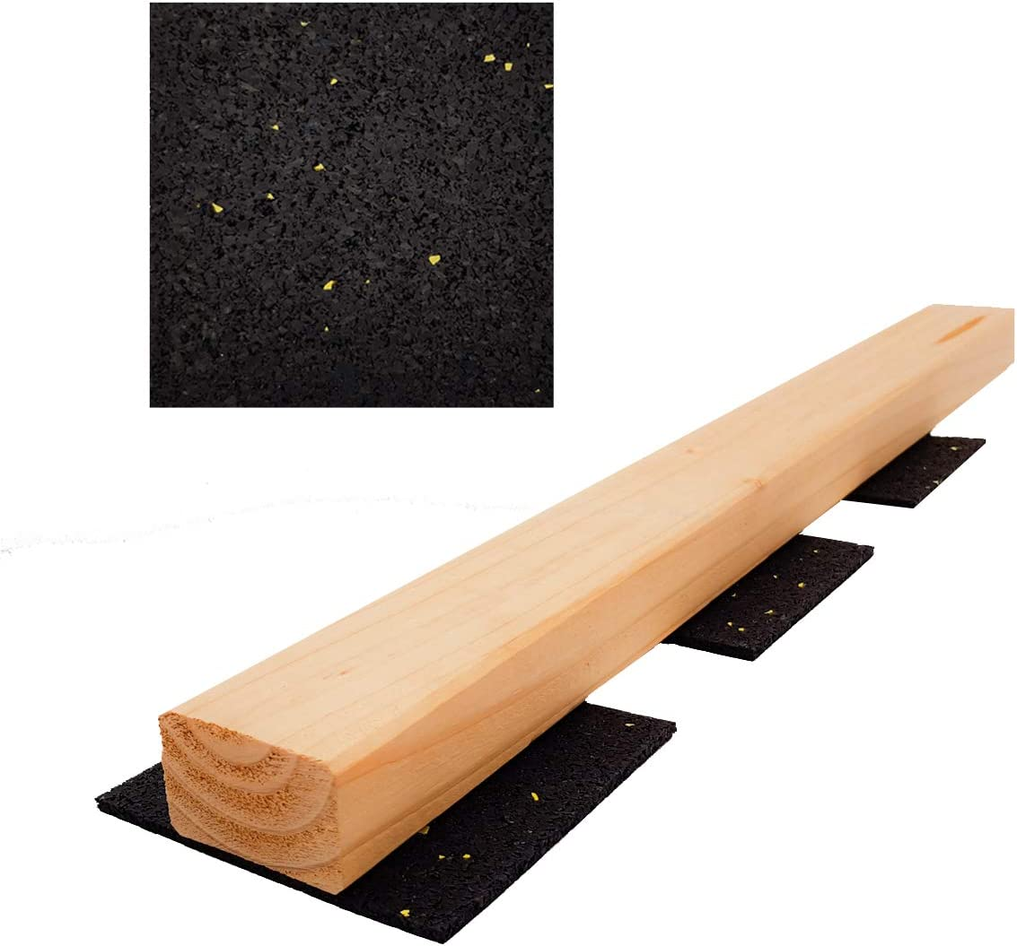 Menge ausw/ählen 90 x 90 mm Terrassenpad Terrassenpads Gummigranulat Terrassenbau Gummipad Unterkostruktion auch in 6mm 8mm 10mm 20mm 25 St/ück Terrassenpads 3mm