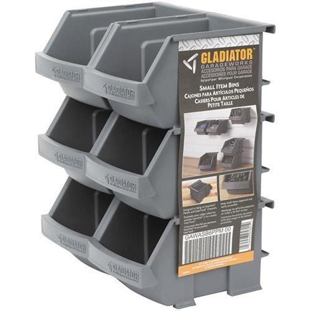 Exceptionnel Amazon.com: Gladiator Garage Works Bin 6 Parts Accessories Storage  Organizer Bins, 6 Pack (Ship From Usa): Home U0026 Kitchen