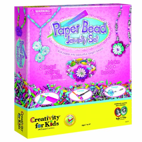 Creativity for Kids The Complete Paper Bead Jewelry Set