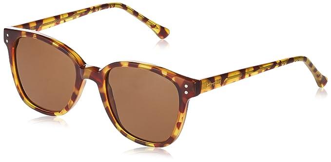 KOMONO Unisex-Erwachsene Brillengestelle Renee, Beige (Giraffe), 50