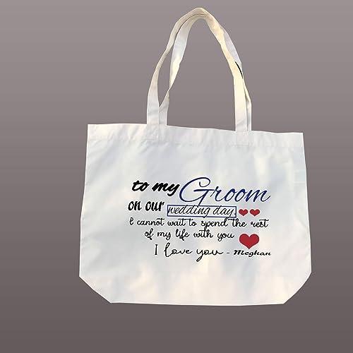 Amazon Groom Tote Bride To Be Tote Bag Wedding Bridal Shower