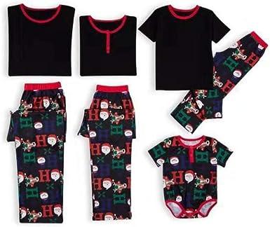 2019 Navidad de la Familia del muñeco de papá Pijamas ...